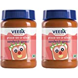 Veeba Pizza and Sandwich Spread, 310g (Pack of 2)