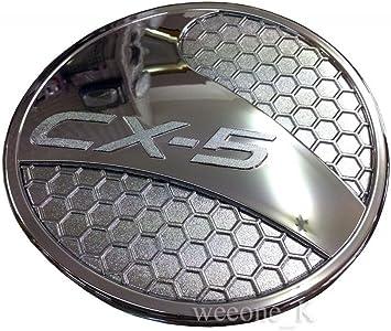 For Mazda Cx-5 Cx5 2017-2019 Chrome Rear Tail Fog Light Lamp Cover Trim Molding