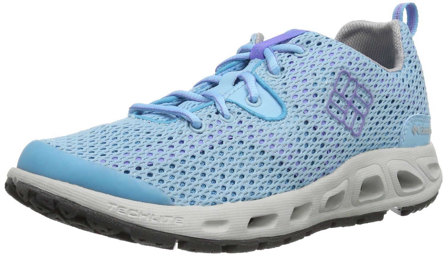 Columbia Women's Drainmaker II Water Shoe,Air Stream/Fairytale,7 M US