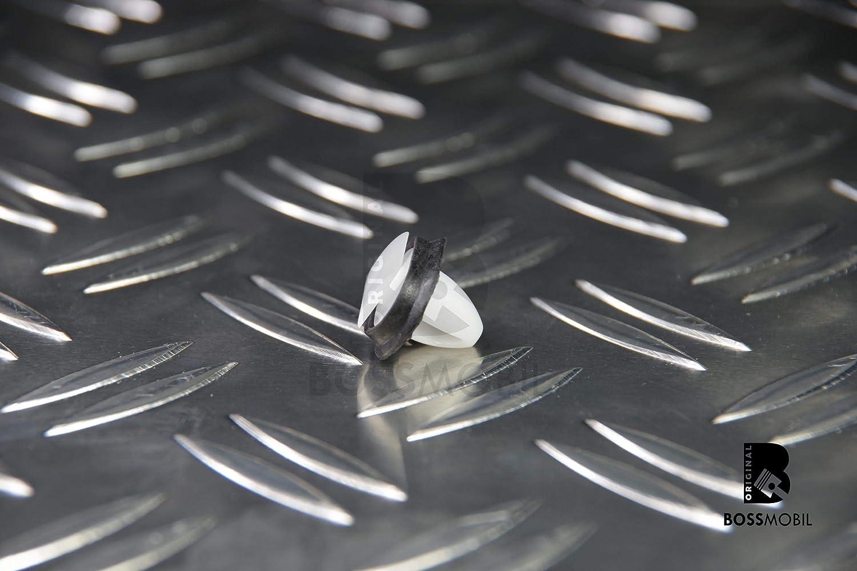 Fermaglio//Gancio//I Di 17 BOSSMOBIL Ducato Scatolaer Barra Laterale Clip X 11 X 10 mm