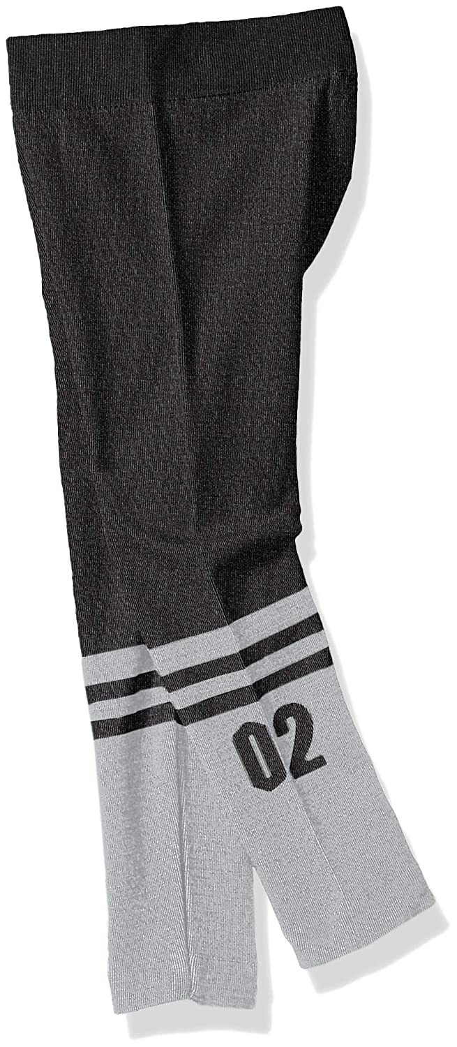 Limited Too Girls 2 Pack Fleece Lined Leggings with Knee Sock Look
