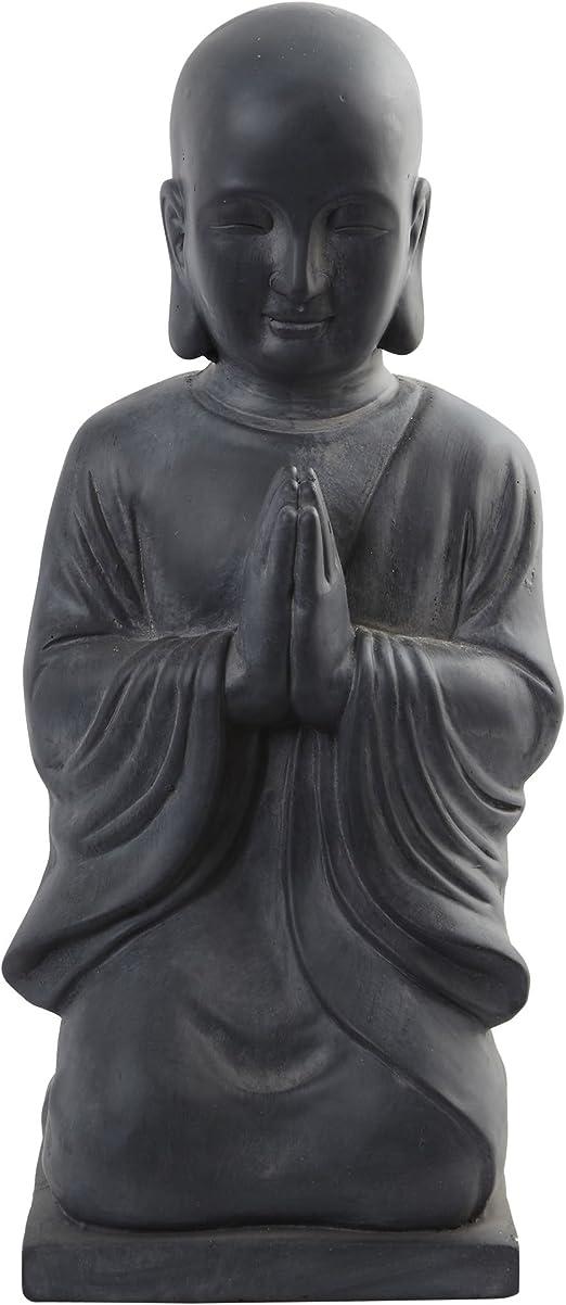 Nearly Natural 4983 Indoor//Outdoor Buddha Head Black