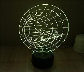 SmartEra® 3D ilusión visual a través del tiempo nave espacial ...