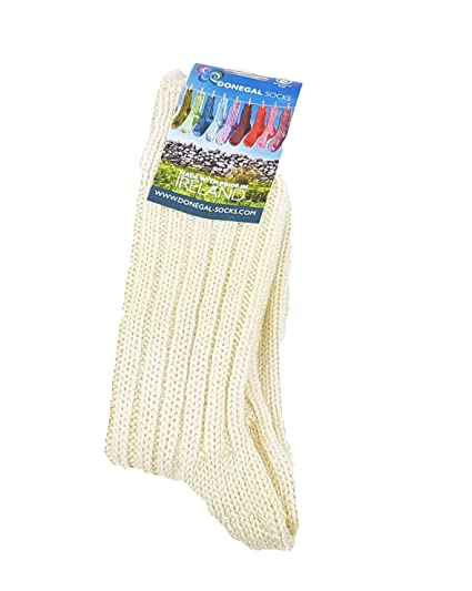 shades of wholesale dealer outlet boutique Genuine Irish 100% Rib Woolly Socks - Made in Donegal - Ireland - 100% Wool  - Aran UK Size 4-7