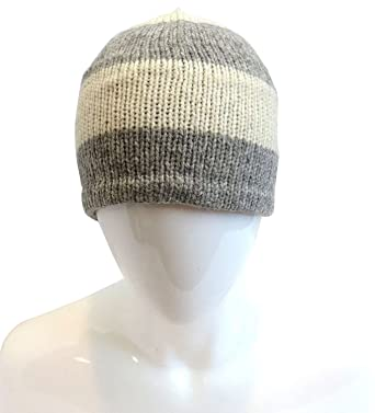 911437a5f17 Image Unavailable. Image not available for. Color  Alpaca Men s Wool  Fleeced-Lined Beanie Hat ...