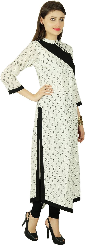Phagun Floral Bollywood Kurta Ethnic Women Cotton Kurti Cotton Top Tunique