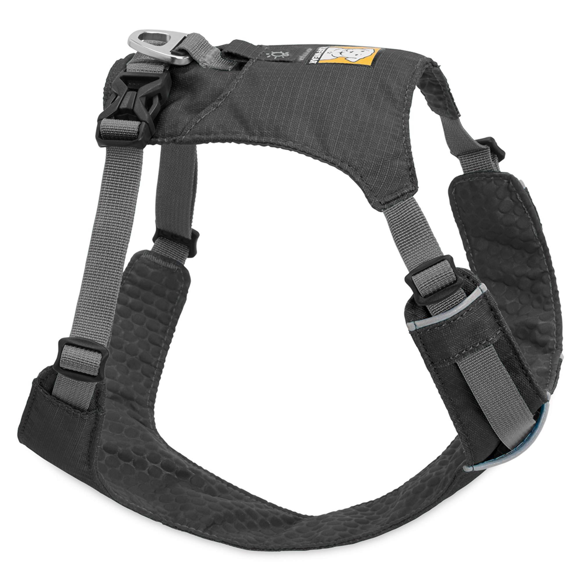RUFFWEAR Lightweight Dog Harness, Medium Breeds, Adjustable Fit, Size: Medium, Twilight Grey, Hi & Light Harness, 3082-025M