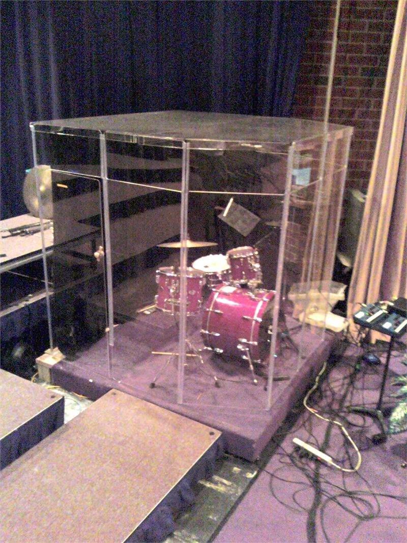 Drum Booth Sound Room Drum Shields or Drum Shield