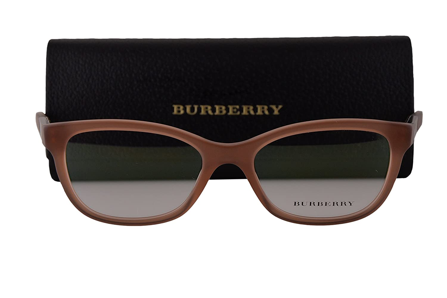 1798431a5df Amazon.com  Burberry BE2232 Eyeglasses 51-17-140 Matte Gradient Brown 3606 BE  2232  Clothing