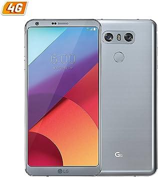 SMARTPHONE LG H870 G6 PLATINUM - 5.7/14.4CM IPS: Amazon.es ...