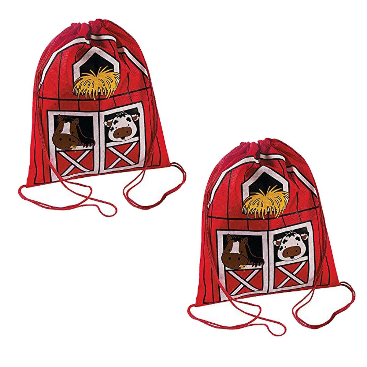 Fun Express Drawstring Backpacks (Set of 24)