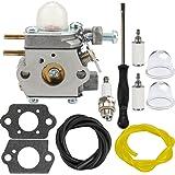 Dalom 753-06190 Carburetor w Carb Adjustment Tool for Troy Bilt TB22 TB21EC TB22EC TB32EC TB42EC TB80EC TB2040XP Trimmer…