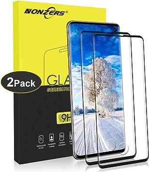 9H Dureza Anti-Ara/ñazos Cobertura Completa Sin Burbujas 2 Piezas IRROT Protector de Pantalla para Samsung Galaxy S10, Cristal Templado para Samsung Galaxy S10 Alta Definicion