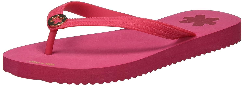 flip*flop Damen goldflower Zehentrenner Pink (Geranium) 39