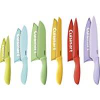Cuisinart 12Pc. Ceramic Coated Color Knife Set