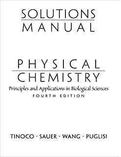 Physical chemistry principles and applications in biological solutions manual for physical chemistry principles and applications in biological sciences fandeluxe Images