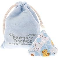 Pee-Pee Teepee Rubber Ducky Blue - Laundry Bag