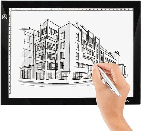 insma A4 LED mesa de copia de dibujo Junta caja de luz diseño de Artcraft Tracing