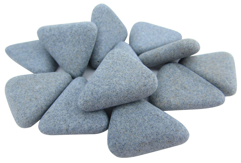 Raytech 41-313 Ceramic Media, Triangle, 5/16 x 7/8'', 50 lb
