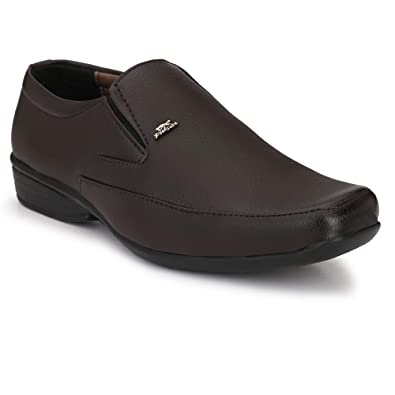 fe04662be2e Stylelure Synthetic Leather Black Formal Shoes for Men Best for Office  Buy  Online at Low Prices in India - Amazon.in