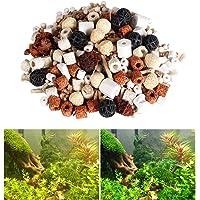 Tfwadmx Bio - Filter Balls, Aquarium Bio Balls Filtration Ceramic Rings Media for Fish Tank and Pond (500g)