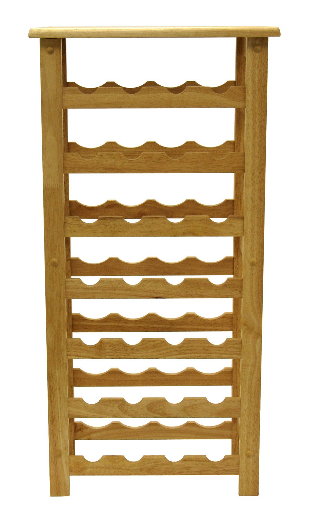 Winsome Wood 28-Bottle Wine Rack