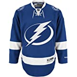 Tampa Bay Lightning Reebok Premier Replica Home NHL Hockey Jersey