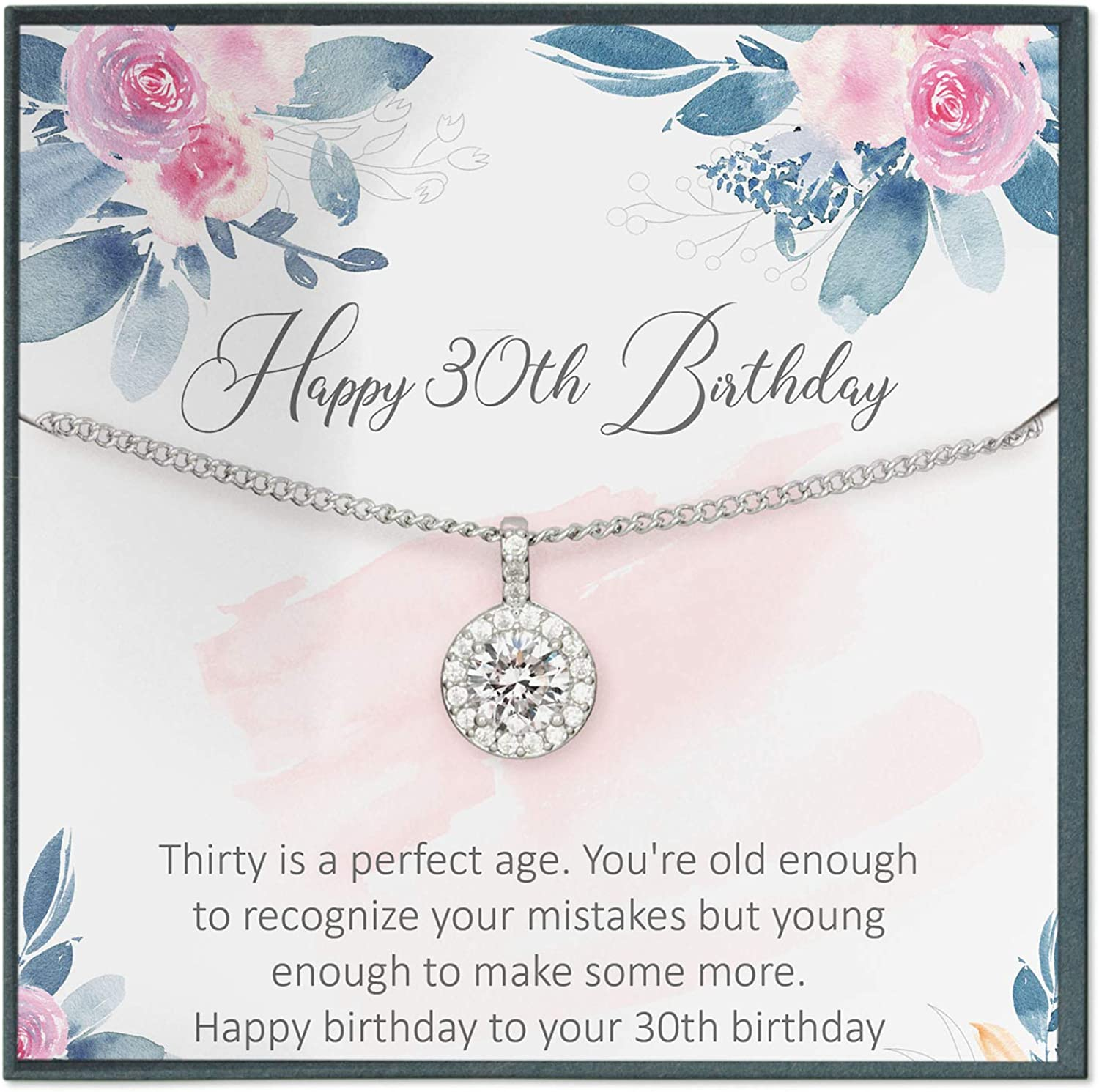 30th Birthday Gift For Women 30th Birthday Gift Idea For Daughter Gift For 3 Decades 30 Year Old Birthday Thirty Birthday Amazon Ca Jewelry