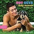 Hot Guys and Baby Animals 2018 Wall Calendar