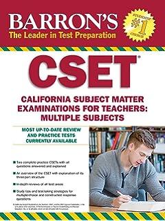 cset multiple subject subtest