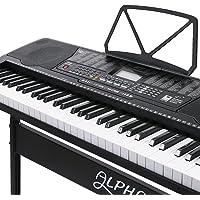 Alpha 61 Keys Lighted Electronic Keyboard