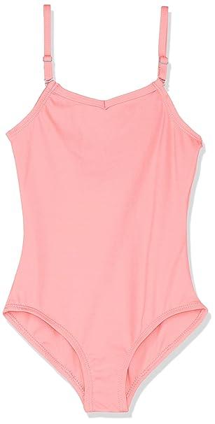 79f51abc4b3aa Capezio Camisole Leotard w/ Adjustable Straps - Girls - Size Child Small,  Flamingo