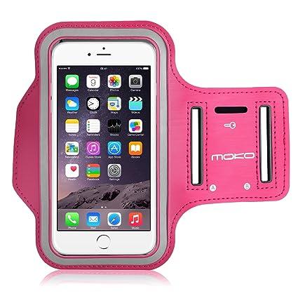 super popular 1c997 09b74 iPhone 6 Plus Armband, iPhone 6s Plus Armband, MoKo Sports Running ...