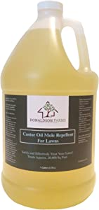 Donaldson Farms Mole Repellent Castor Oil Concentrate - 1 Gallon - Mole Repelling Oil