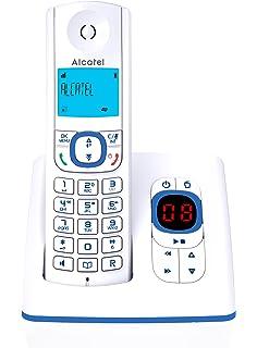 Alcatel Versatis F230 - Teléfono fijo digital inalámbrico (importado): Amazon.es: Electrónica