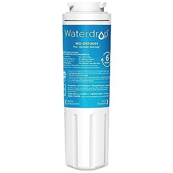Waterdrop WD-UKF8001 reemplazo del filtro de agua del refrigerador para Maytag UKF8001, UKF8001AXX