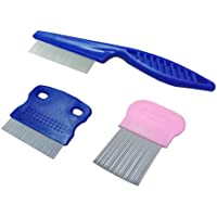 zYoung Set of 3 Tear Stain Remover Combs Dogs