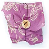 Bee's Wrap Sandwich Wrap, Eco Friendly, Reusable, and Sustainable Plastic Free Food Storage for Wrapping Sandwiches - Clover Print