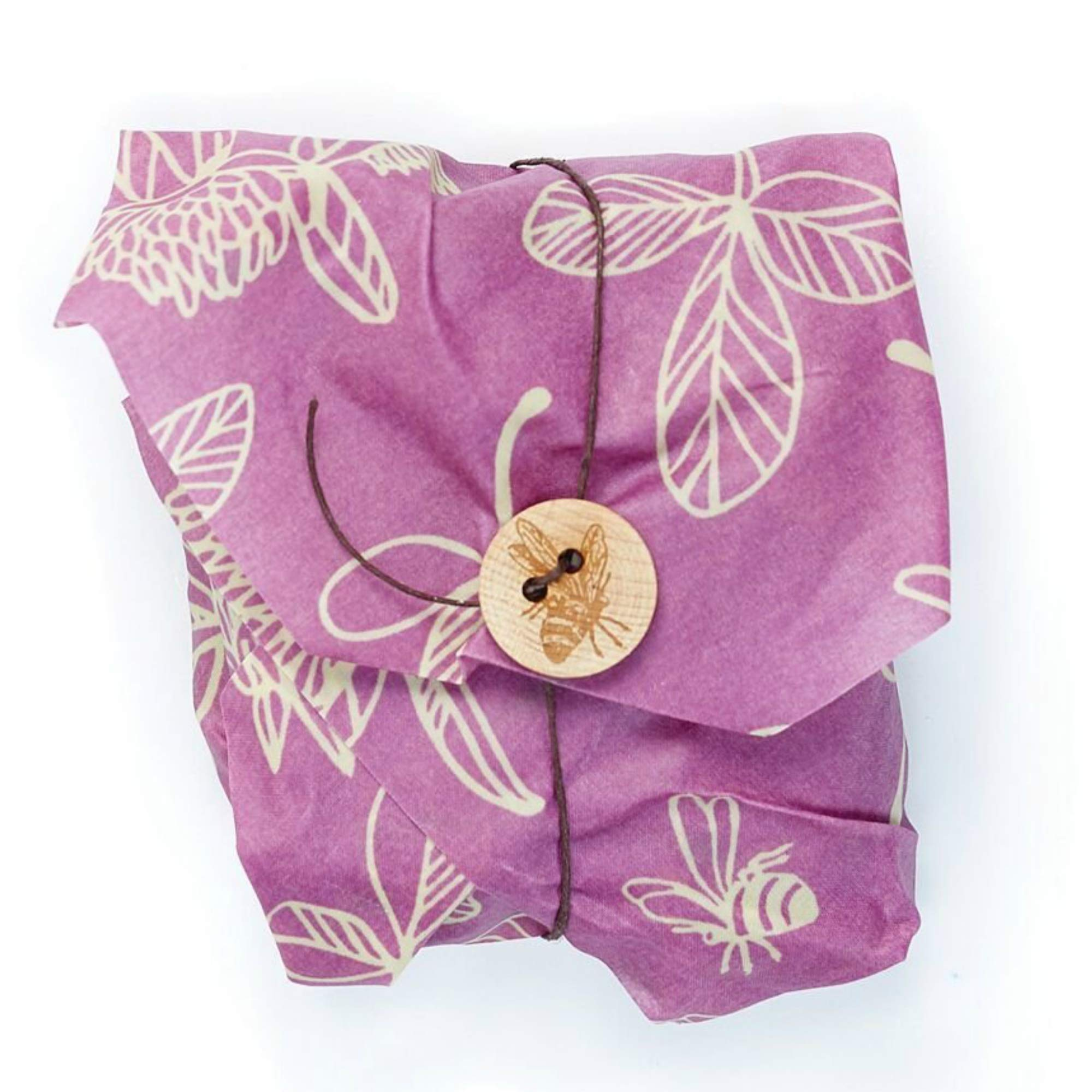 Bee's Wrap Sandwich Wrap, Eco Friendly Reusable Beeswax Food Wrap, Sustainable, Zero Waste, Plastic Free Alternative for Wrapping Sandwiches (Clover Print) by Bee's Wrap