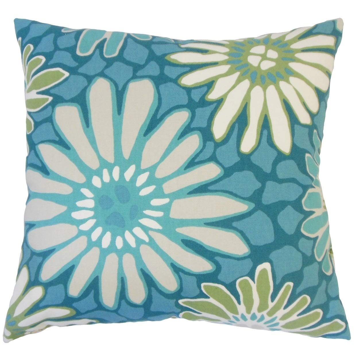 Amazon.com: The Pillow Collection Sabeen Floral Down - Cojín ...