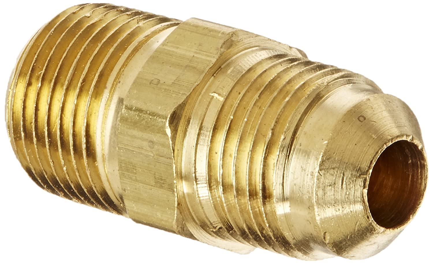 Adapter Pack of 5 Pack of 5 3//8 NPT Male x 3//8 SAE Male Eaton Products 3//8 NPT Male x 3//8 SAE Male Eaton Weatherhead 48X6X6 Brass CA360 SAE 45 Degree Flare