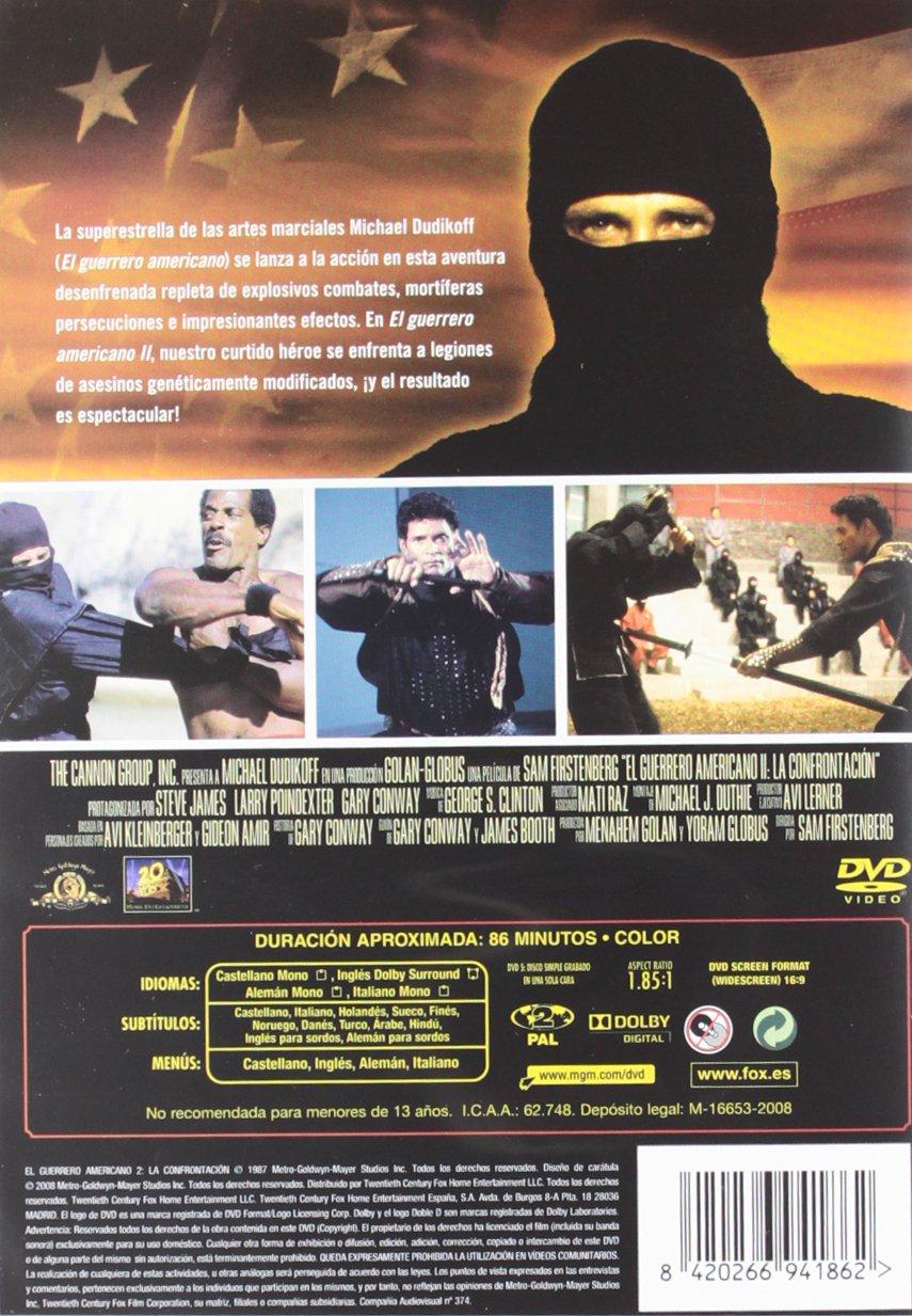 El Guerrero Americano 2: La Confrontacion [DVD]: Amazon.es ...