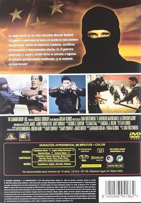 Amazon.com: il guerriero americano 2 la sfida dvd Italian ...