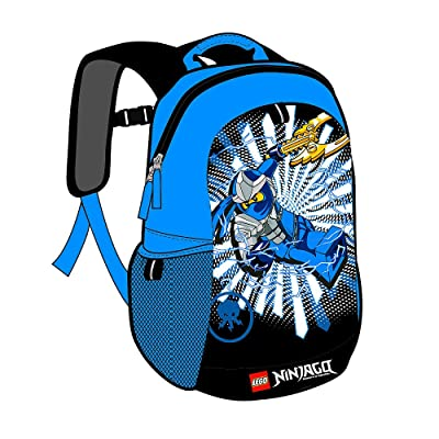 Lego Ninjago 16 Inch Blue Backpack durable service
