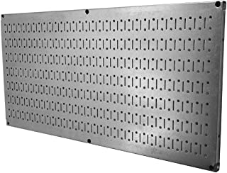 product image for Wall Control Pegboard 16in x 32in Horizontal Galvanized Metal Pegboard Tool Board Panel