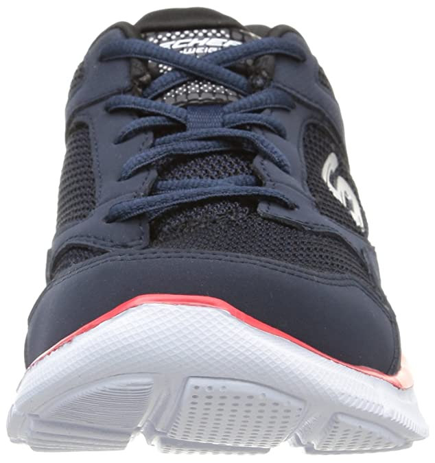 Skechers Equalizer- Game Point, Sneakers da Uomo, Grigio (GYLB), 39