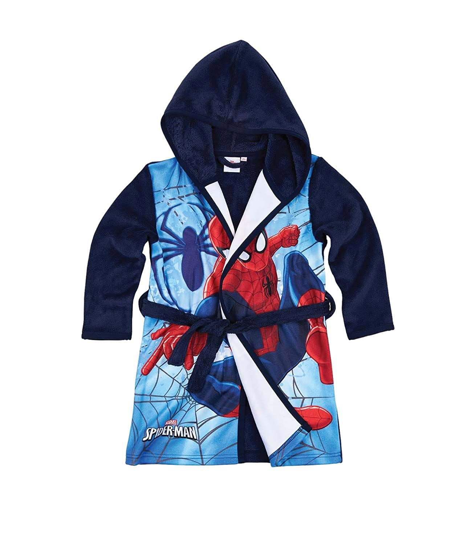 spiderman Boys' Robe Blue blue