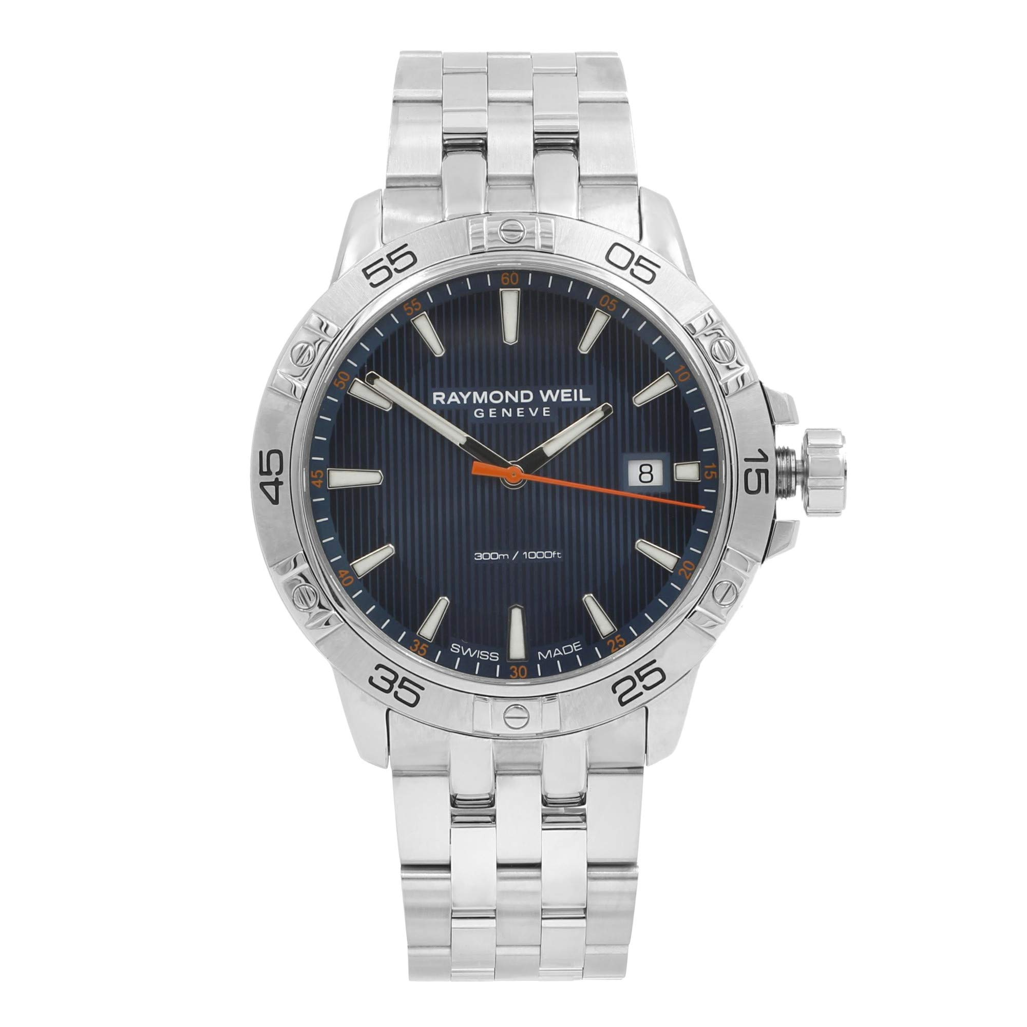 Raymond Weil Tango Quartz Male Watch 8160-ST2-50001 (Certified Pre-Owned) by RAYMOND WEIL (Image #1)