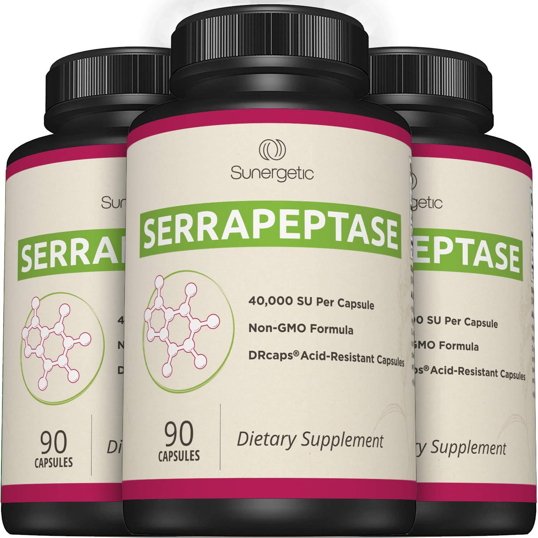 Amazon.com: El mejor suplemento de enzimas serrapeptasa, una ...