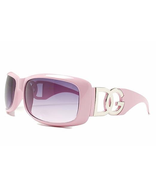 DG Eyewear - Gafas de sol - para mujer Gold with Brown Lens ...